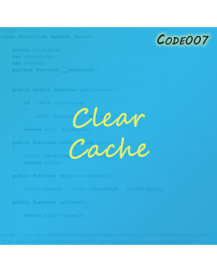 Clear Cache for Magento 2