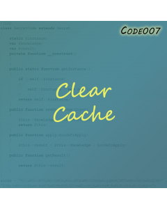 Clear Cache for Magento 1