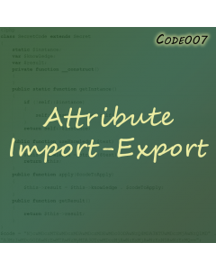 Attribute Import-Export for Magento 2