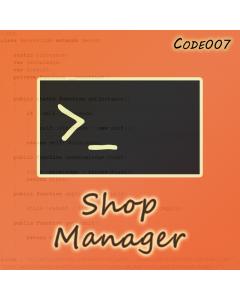 Shop Manager