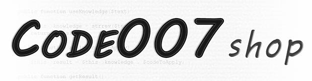 Code007 Shop